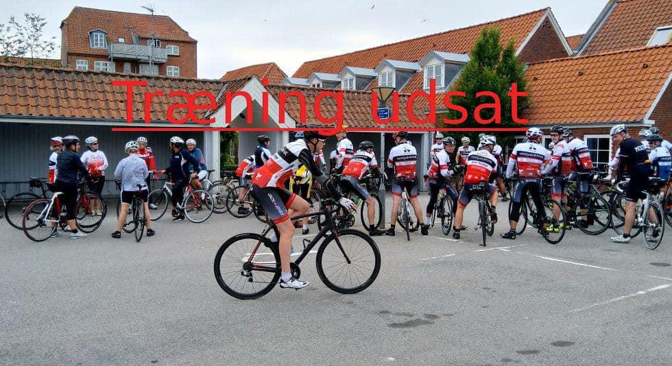 Udsættelse af opstart af træning i Ringkøbing Cykle Club