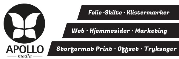 Apollo Media - hjemmesider, tryksager, skilte, mm